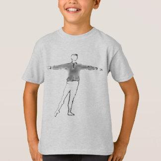 Ballet Boy Custom Dance Gifts T-Shirt