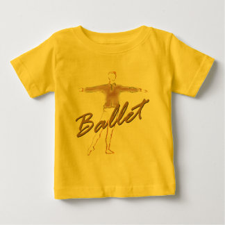 Ballet Boy Gifts for Dancers Baby T-Shirt