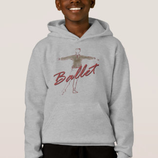 Ballet Boy Gifts for Dancers Hoodie