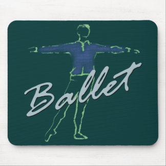 Ballet Boy Gifts for Dancers Mouse Pad