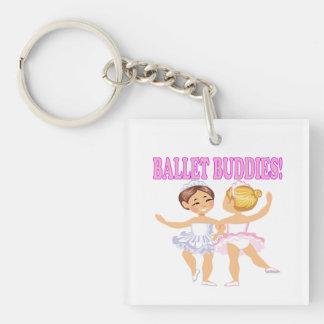 Ballet Buddies Keychain