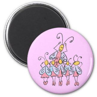 Ballet Bugs Magnet