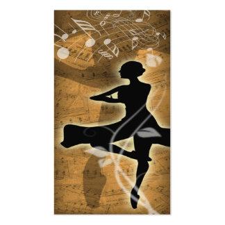 Ballet Business Card Templates