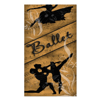 Ballet Business Card Template