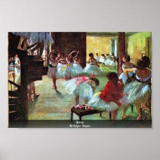 Ballet By Edgar Degas Posters