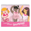 Ballet Calendar for Girls calendar