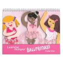 Ballet Calendar for Girls calendar