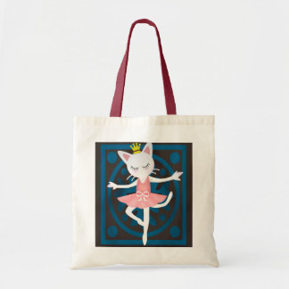 Ballet Cat Tote Bag