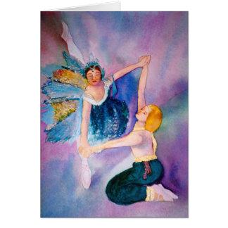 Ballet clásico tarjeta de felicitación