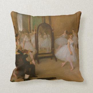 Ballet Class | Edgar Degas | Dancer Throw Pillow