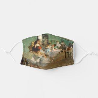 Ballet Class | Edgar Degas | Impressionist Adult Cloth Face Mask
