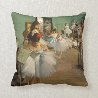 Ballet Class | Edgar Degas | Impressionist Throw Pillow