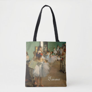 Ballet Class | Edgar Degas | Impressionist Tote Bag