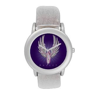 Ballet con alas reloj