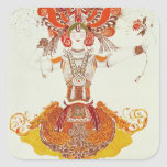Ballet Costume for 'The Firebird', by Stravinsky Sticker