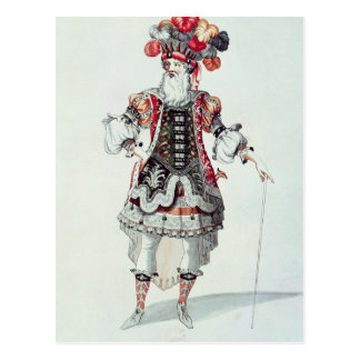 Ballet Costume Postcard