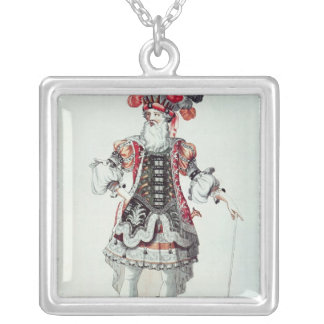 Ballet Costume Silver Plated Necklace