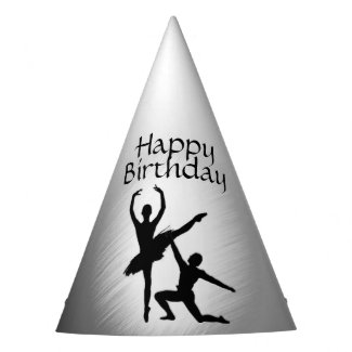 Ballet Couple Dance Birthday Party Hat