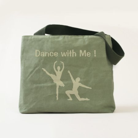 Ballet Couple Dance with Me Tote