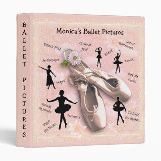 Ballet vinyl binder by aura2000