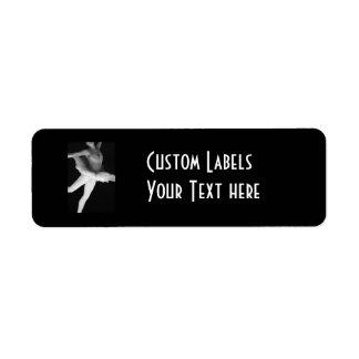 Ballet - Dance - Ballerina 9 - Black & White Label