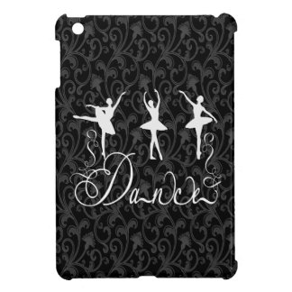 Ballet Dance Brocade Black and White Elegance Cover For The iPad Mini