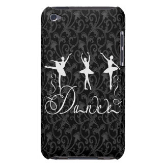 Ballet Dance Brocade Black and White Elegance iPod Touch Cover