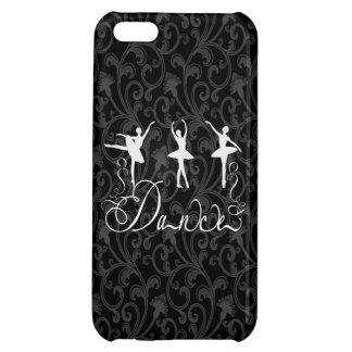 Ballet Dance Brocade Black White Elegant Dancers iPhone 5C Cover