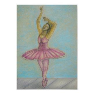 ballet dance card