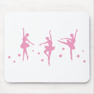 Ballet Dance Girls Pink Women Fancy Fun Party Show Mouse Pad