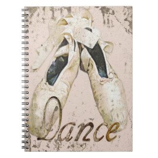 Ballet dance notebook1, Copyright Karen J Williams Notebook