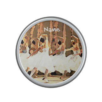 Ballet Dance On Stage Ballerinas Bluetooth Speaker