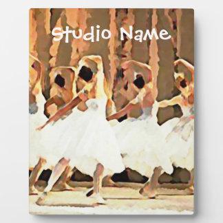 Ballet Dance On Stage Ballerinas Plaque