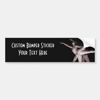 Ballet - Dance Partners 2 - Red Car Bumper Sticker