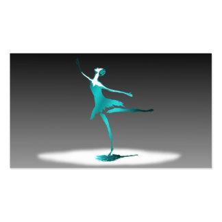 ballet dancer ビジネスカードテンプレート