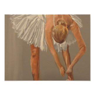 Ballet dancer 1 card