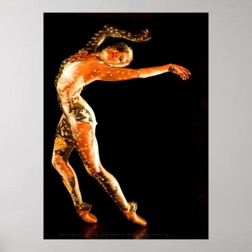 Ballet Dancer-4651XLG Póster