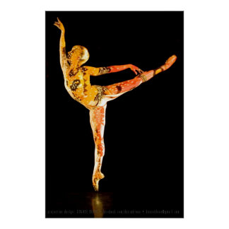 Ballet Dancer-4665XLG Poster