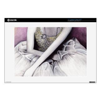 """ballet dancer at rest decal for 15"""" laptop"""