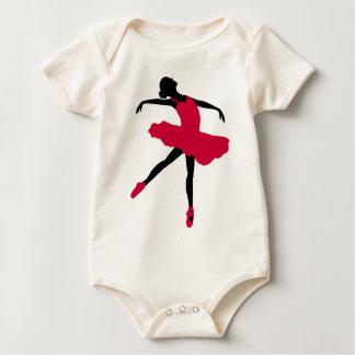 Ballet Dancer Baby Bodysuit