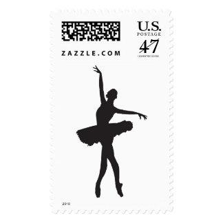 BALLET DANCER (Ballerina silhouette) ~.png Stamp