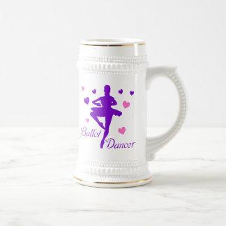 Ballet Dancer Beer Stein