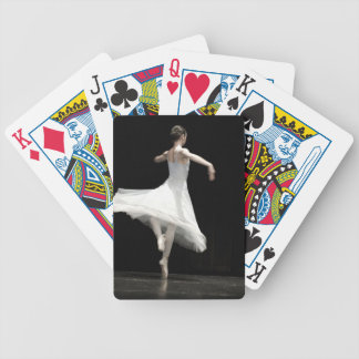 Ballet Dancer Bicycle Playing Cards