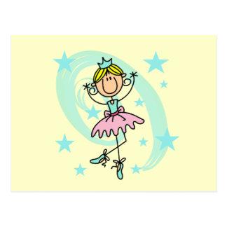 Ballet Dancer - Blond T-shirts and Gifts Postcard