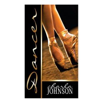 BALLET DANCER BUSINESS CARD profilecard