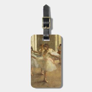 Ballet Dancer by Edgar Degas Bag Tag