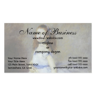 Ballet Dancer by Pierre Auguste Renoir Business Card Template