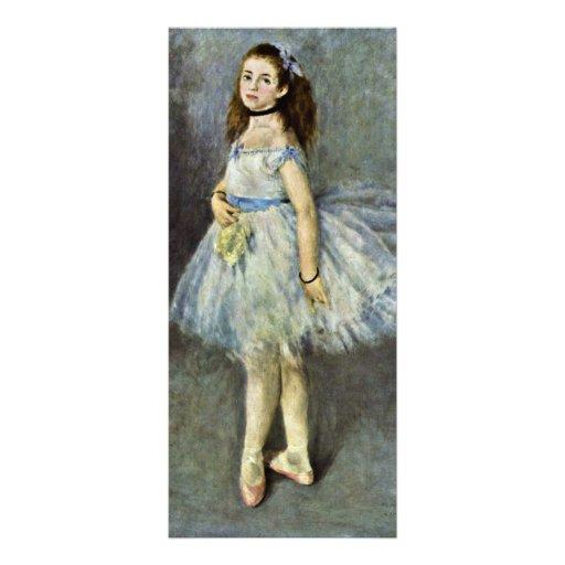 Ballet Dancer By Pierre-Auguste Renoir Customized Rack Card
