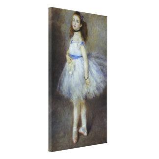 Ballet Dancer by Pierre Renoir, Vintage Fine Art Canvas Print