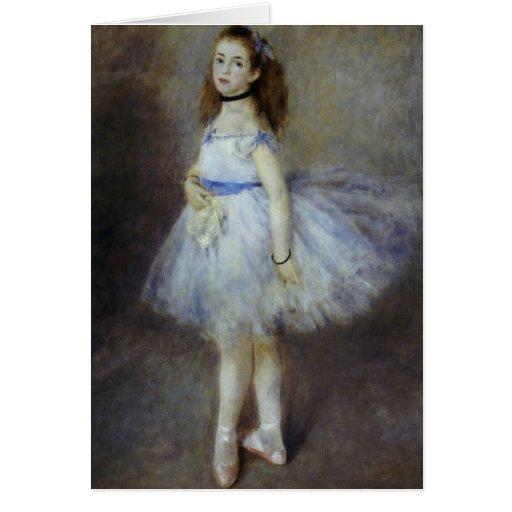 Ballet Dancer by Pierre Renoir, Vintage Fine Art Card